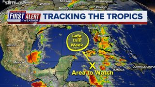 Possible tropical development could affect Memorial Day weekend