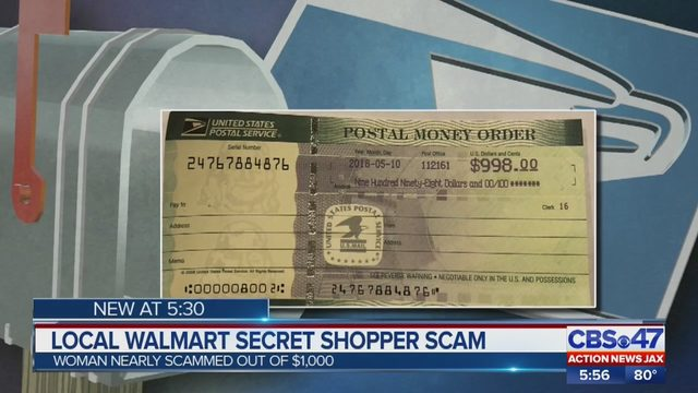 Jacksonville woman warns of Walmart 'secret shopper' scam | WJAX-TV