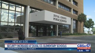 Security increased at Duval County elementary schools