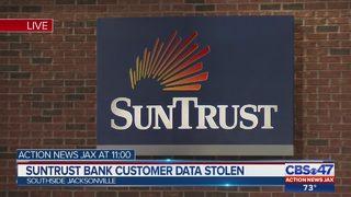 Suntrust Bank customer data stolen