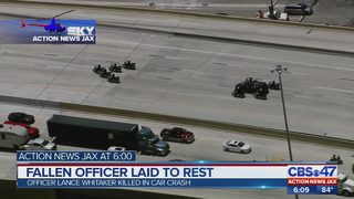 Fallen JSO officer laid to rest Wednesday morning