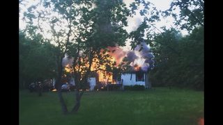 Disabled Nassau County woman escapes fire