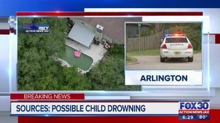 Authorities investigating possible child drowning in Jacksonville