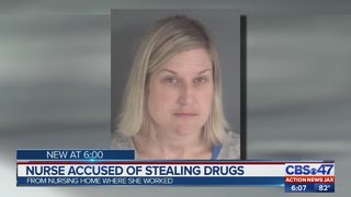 CCSO: Nurse fired after stealing $1,400 in pills Life Care Center