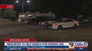 Neighbors help with search for missing girl