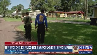 Search for missing 9-year-old girl