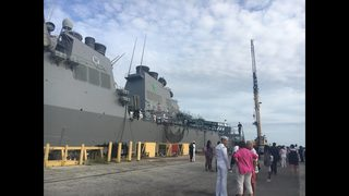 MAYPORT: Sailors deploy on USS The Sullivans for six months