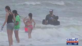 Jacksonville Beach Ocean Rescue warns of rip current dangers