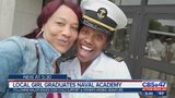 Local girl graduates from Naval Academy