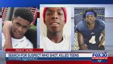 Search for suspect who shot, killed teens