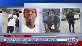 Search for suspects in deadly quadruple shooting