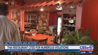 Restaurant Report: Jacksonville Thai restaurant cited for live roaches