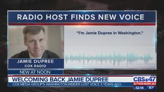 Welcoming back Jamie Dupree