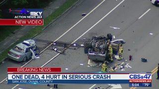 JSO: 1 person killed, 4 hurt in San Jose Blvd. crash