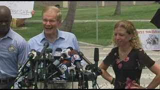 Sen. Nelson, other lawmakers denied entry to facility housing immigrant children in Florida