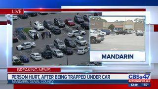 Person struck by car in Walmart parking lot