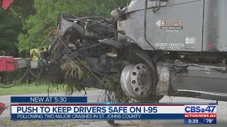 Report: I-95 near Jacksonville most dangerous stretch of highway