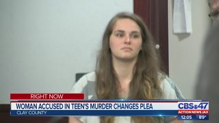 Woman accused in teen