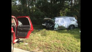 Photos: Four killed on St. Johns County road