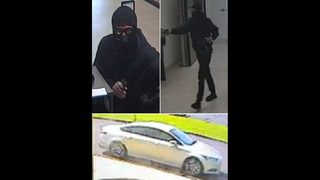 Jacksonville police searching for Compass Bank robbery suspects