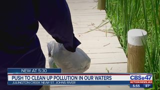 Push to clean up pollution in our waters