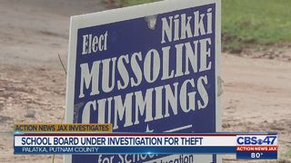 School board under investigation for theft