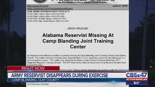 Soldier missing from Camp Blanding after land navigation exercise
