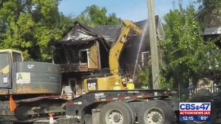 Historic home demolished