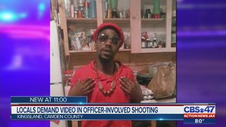 Locals demand video in officer-involved shooting