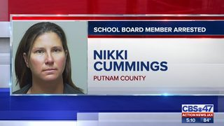 Putnam County School Board member arrested on grand theft charge