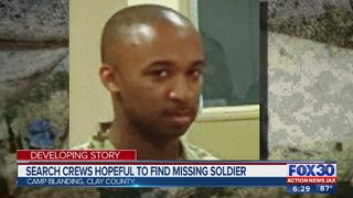 Search crews hopeful to find Soldier missing from Camp Blanding after land navigation exercise