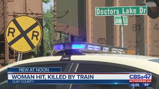 Woman hit, killed by train
