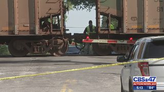 Woman hit, killed by train in Clay County