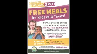 Free hot breakfast, lunch offered during summer at Jacksonville school cafeterias