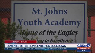 Juvenile detention center on lockdown