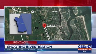 Shooting investigation on St. Augustine Westside
