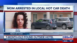 Mother of baby left in hot car in Kingsland faces upgraded charges