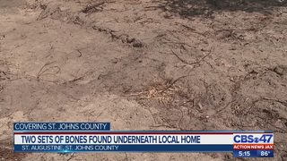 Investigation launched after human remains found in St. Augustine
