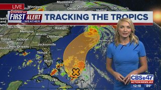 First Alert Forecast: July 11, 2018, Noon