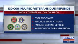 Thousands of veterans to receive refund after Department of Defense computer glitch
