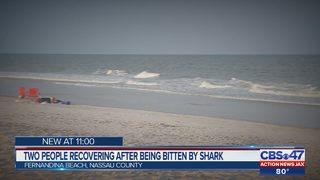 Survivor of shark attack at a Fernandina Beach says he won