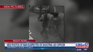 Jacksonville police release new photos of man who shot at officer