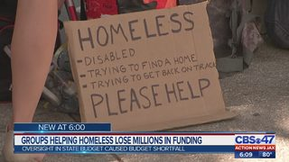 Groups helping homeless lose millions in funding