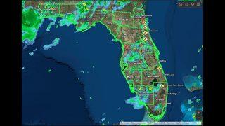 Florida Forest Service wildfire dashboard