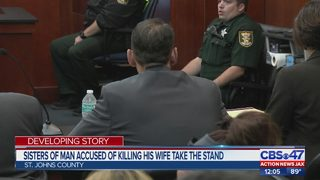 James Colley Trial: Sisters of man accused of killing wife, friend take stand