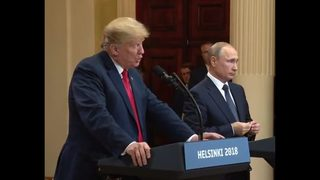 Trump says he misspoke at Putin summit on Russian interference