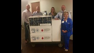 Baptist MD Anderson Cancer Center patients receive special donation