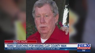Family searching for missing Clay County man