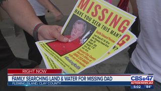 Fleming Island community comes together to search for missing father