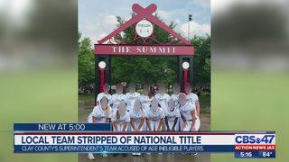 Jacksonville travel softball team stripped of National Championship title